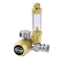Aqua Nova Gold CO2 reduktorius su burbuliukų skaičiuotuvu