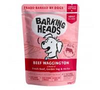 Barking Heads Beef Wagginkton konservai su jautiena šunims, 300g