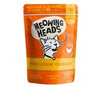 Meowing Heads Paw Lickin Chicken konservai su vištiena katėms, 100g