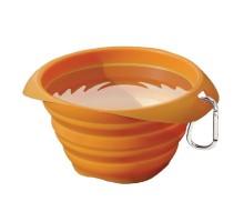 Kurgo Collaps A Bowl sulankstomas dubenėlis oranžinis; 700ml