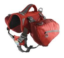 Kurgo Baxter Backpack raudonas krepšys šuniui, (šunims 14-38 kg)