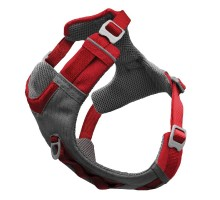 Kurgo Journey Air Harness Red petnešos šunims, XS-XL
