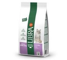 Libra Cat Sterilized sausas maistas katėms, vištiena, 10kg