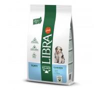 Libra Dog Puppy Chicken sausas maistas su vištiena šuniukams, 12kg