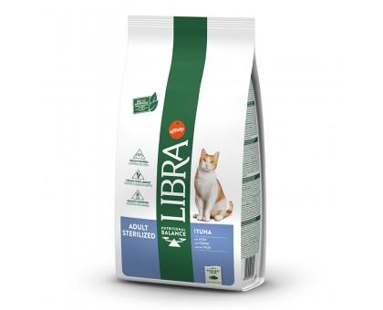 Libra Cat Sterilized sausas maistas katėms, tunas, 10kg