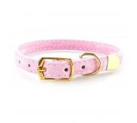 Antkaklis katėms ir šunims Mini Pink; 22-27cm