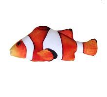 Žaislas katėms minkštas Clownfish; 20cm