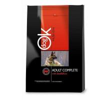 Ok Dog Passion Adult Beef and Rice jautiena, ryžiai sausas maistas šunims, 3kg, 12.5kg