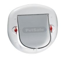 PetSafe Staywell Big Cat/Small Dog Pet durelės iki 10kg šunims iš katėms, baltos
