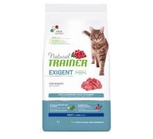 Trainer Natural Cat Exigent Beef sausas maistas katėms, jautiena; 1.5kg