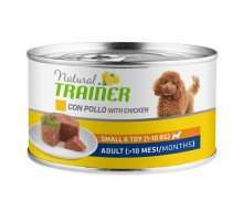 Trainer Natural Small Adult konservai suaugusiems šunims mažų veislų, vištiena; 150g