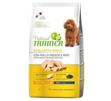 Trainer Natural Adult Mini Chicken sausas maistas suaugusiems šunims mažų veislų, vištiena; 2kg, 7kg
